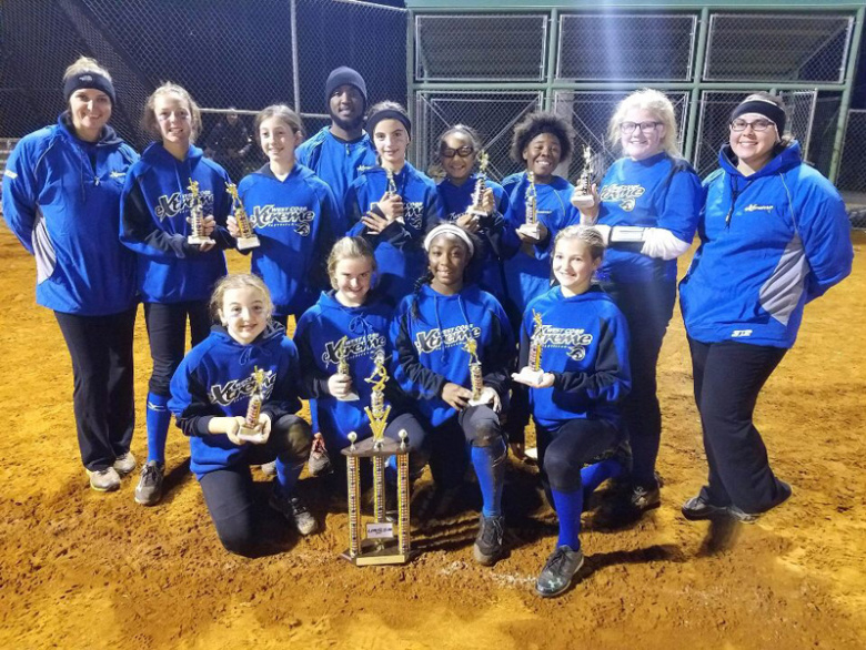 West Cobb Extreme 12U Takes 2nd USSSA