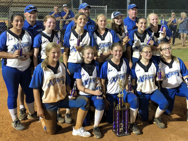 West Cobb Extreme 14u Takes 2nd Place In Gsa Tournament