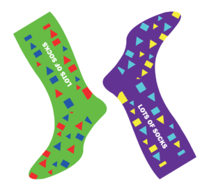 Wear your crazy socks!