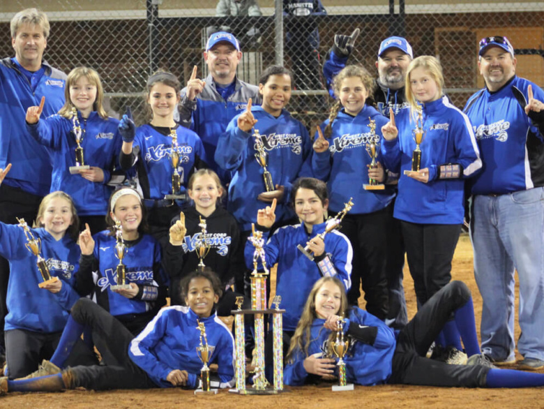 West Cobb Extreme 07 Wins Championship