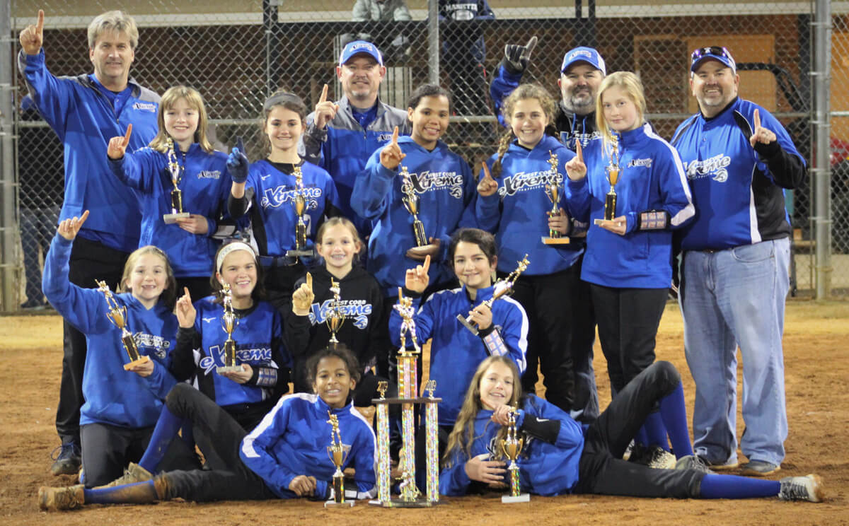 West Cobb Extreme 07 Takes First Place in late November 2019 GSA Tournament