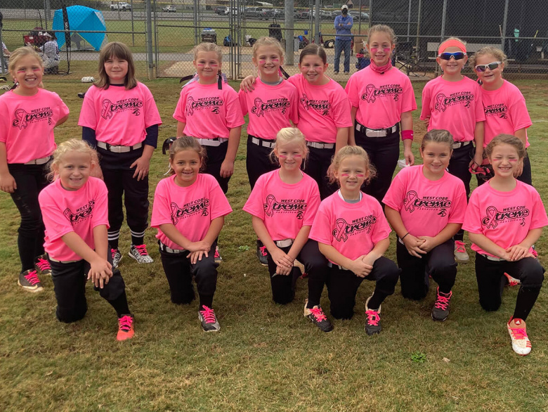 West Cobb Extreme 8U - First Place Win
