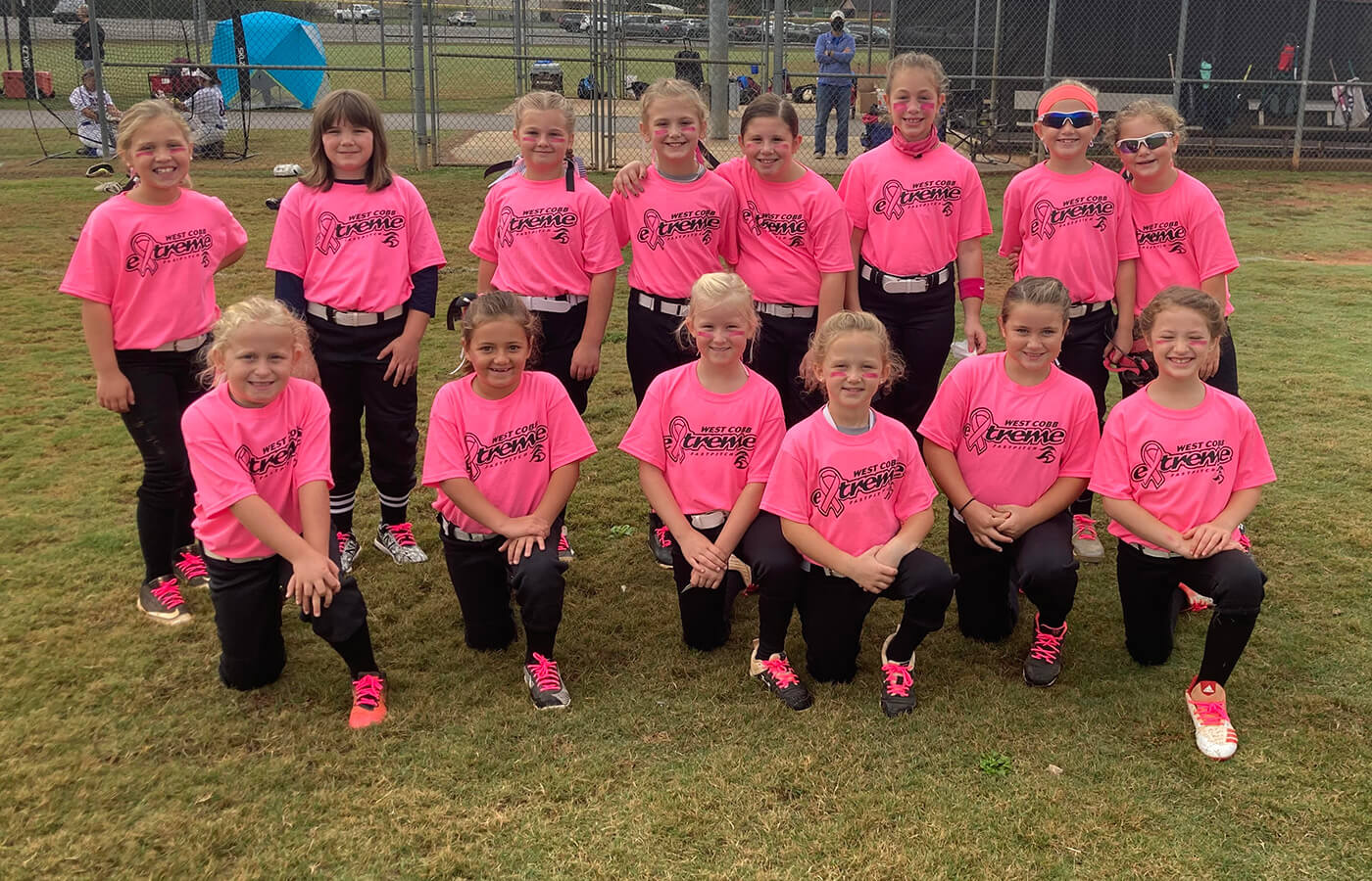 West Cobb Extreme 8U Takes First Place!
