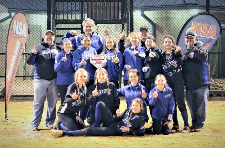 West Cobb Extreme 07 - 14U Champions in NSA Break the Ice