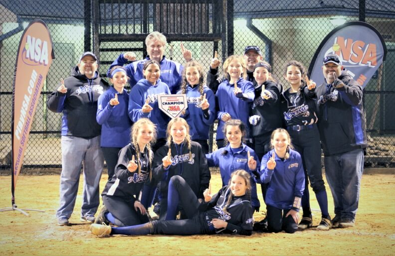 West Cobb Extreme 07 – 14U Champions in NSA Break the Ice