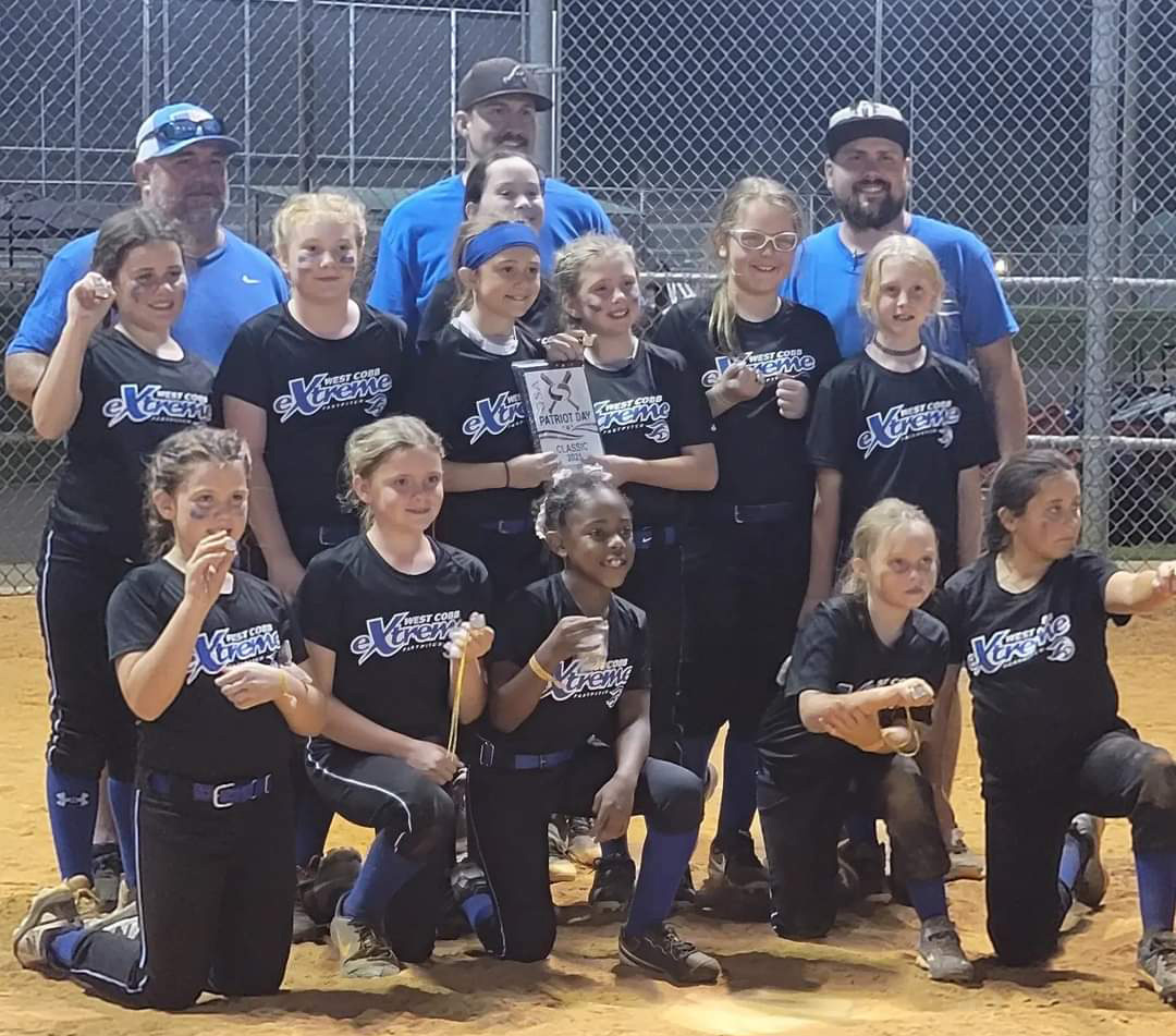 Extreme 10U Takes 2nd Place in Patriot Day Tournament